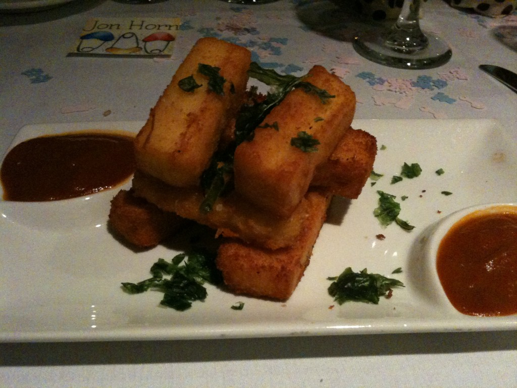 Polenta Cheese Fries