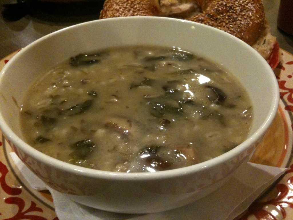 Wild Mushroom and Barely Soup