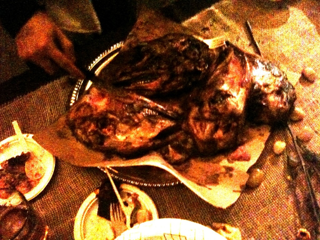 Bad lighting, I know...but those are F'ing goat heads!