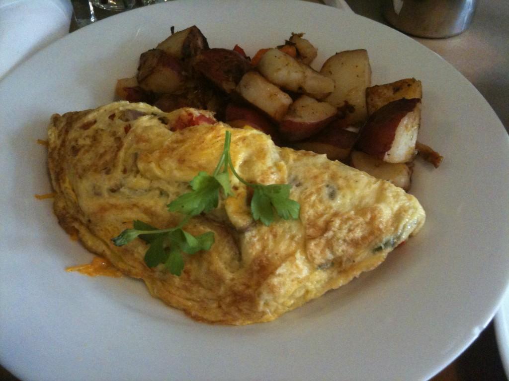 BBQ Omelette