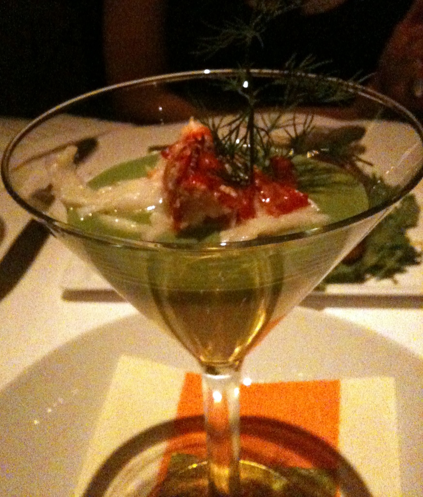 Warm Lobster Cocktail