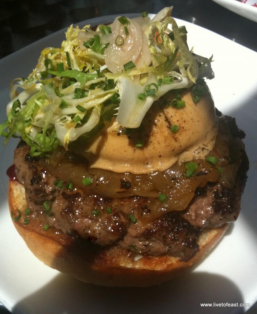 Flip A5 burger