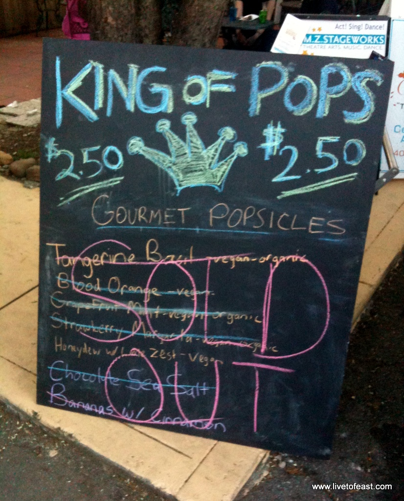 King of Pops sold out