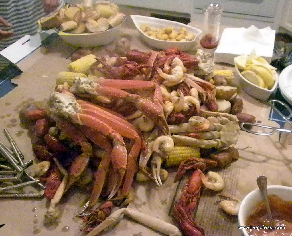 Low Country Boil - Homemade
